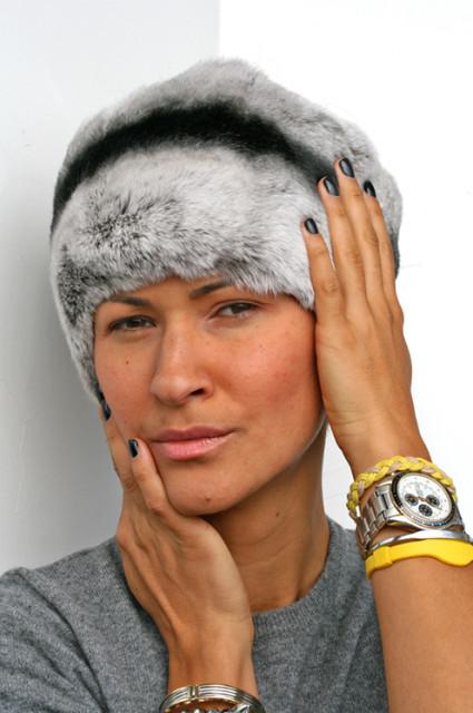 модная теплая шапка