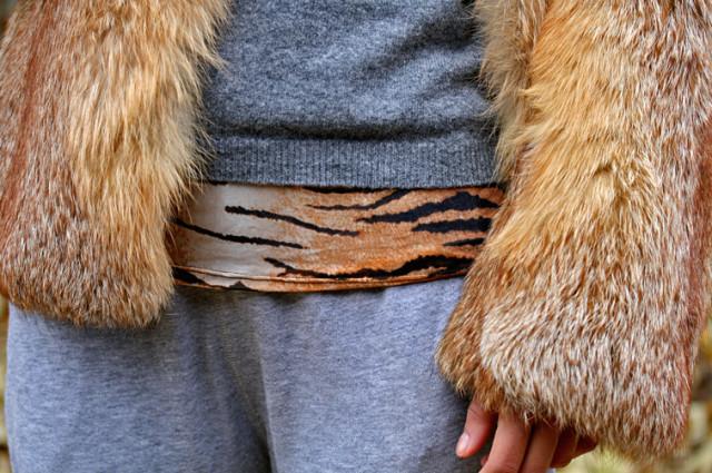 тигровый принт