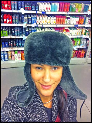 шапка-ушанка, меховая шапка 2012,