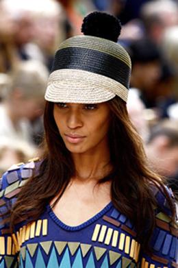 Burberry prorsum resort 2012, visor trend