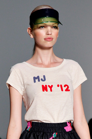 marc by marc jacobs, visor trend 2012