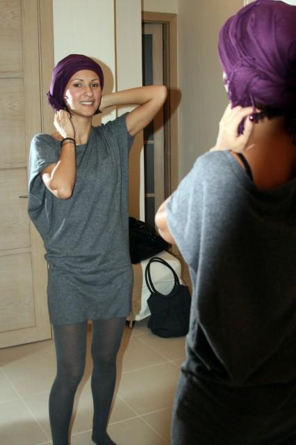 как носить тюрбан