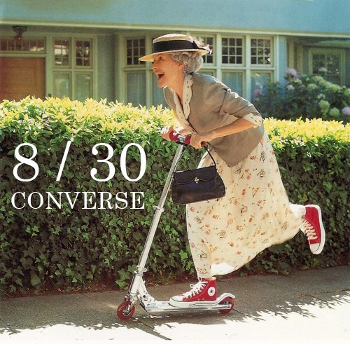 рекламная кампания converse