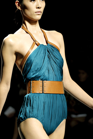 lanvin leather belt ss 2011