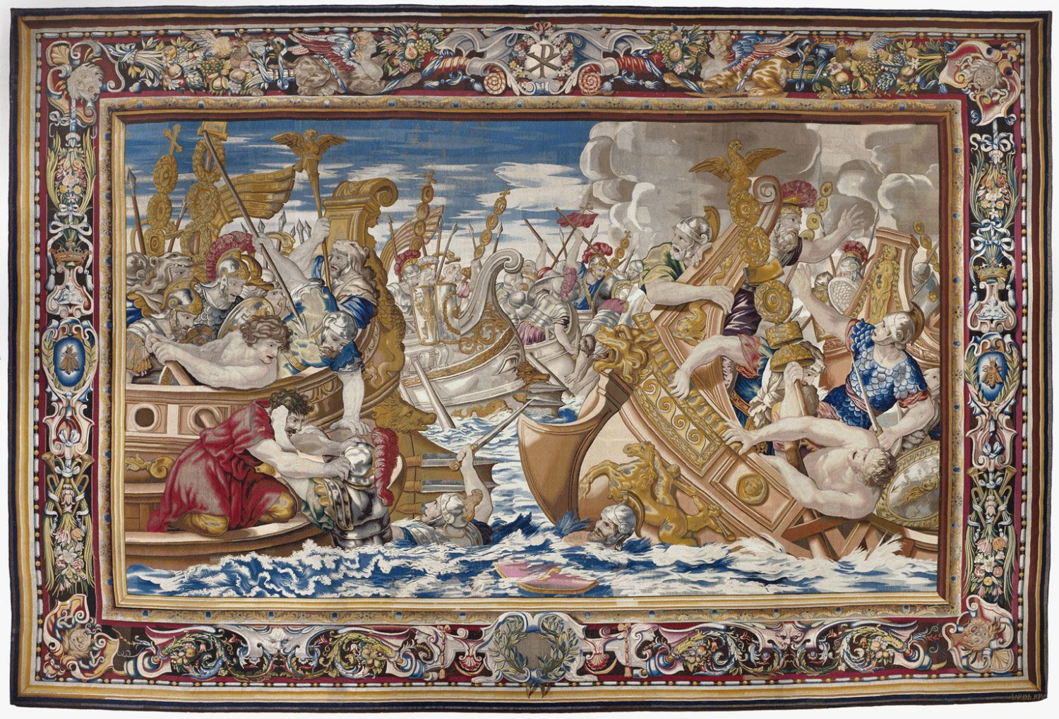 Tapestry_showing_the_Sea_Battle_between_the_Fleets_of_Constantine_and_Licinius-cropped.jpg