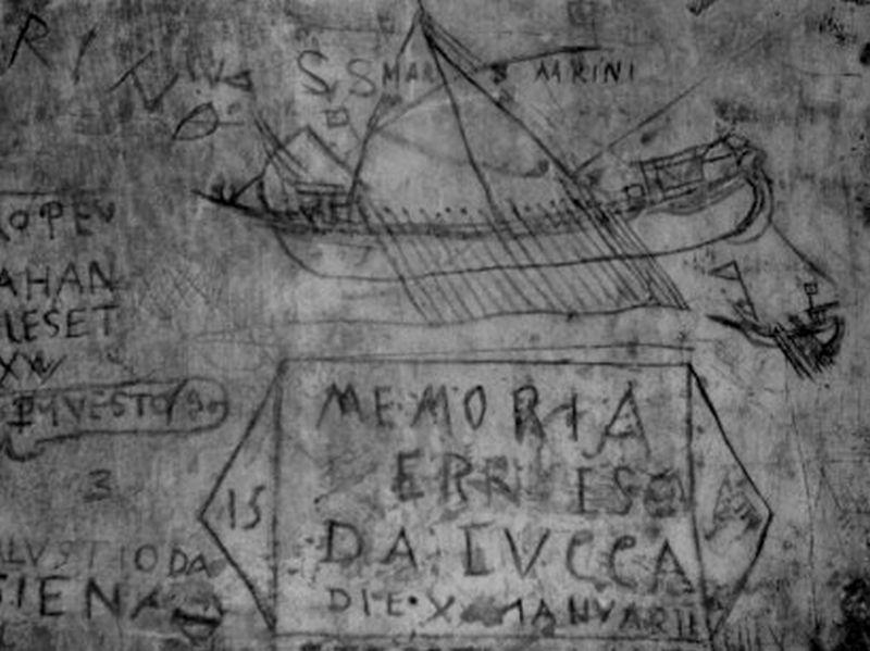 graffiti, Pozzi prison, Venice.jpg