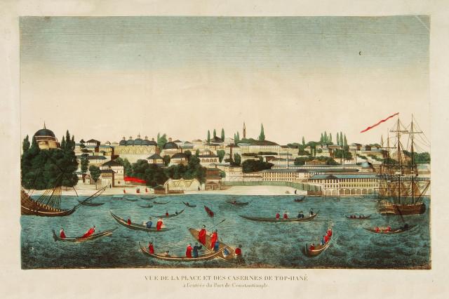 Константинополь, каики
