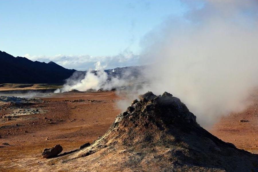 2 Fumarole - Hverarond Geothermal Area, Iceland