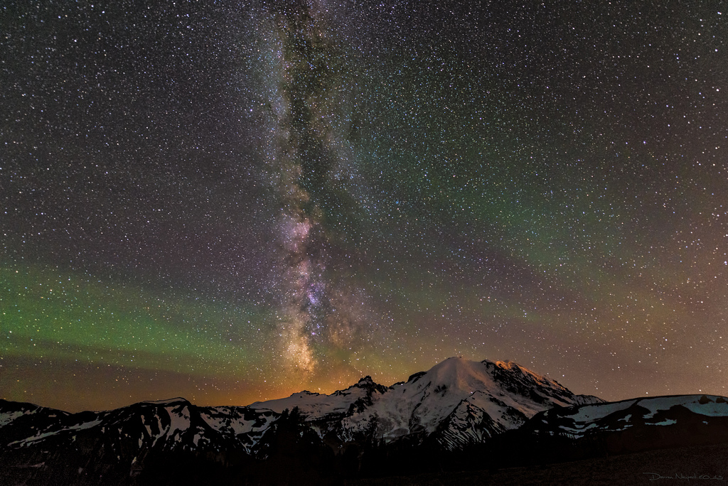 The Milky Airglow