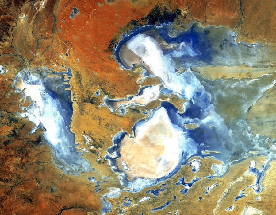 12 Lake Eyre is Australia