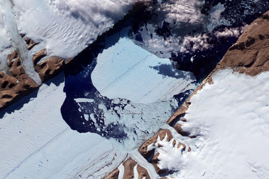 13 Ледники  в  Гренландии