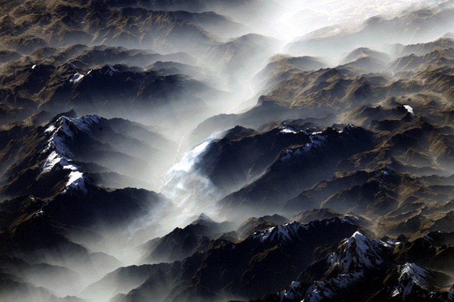 Самая длинная в мире горная гряда - Анды. Фото Ф. Юрчихина