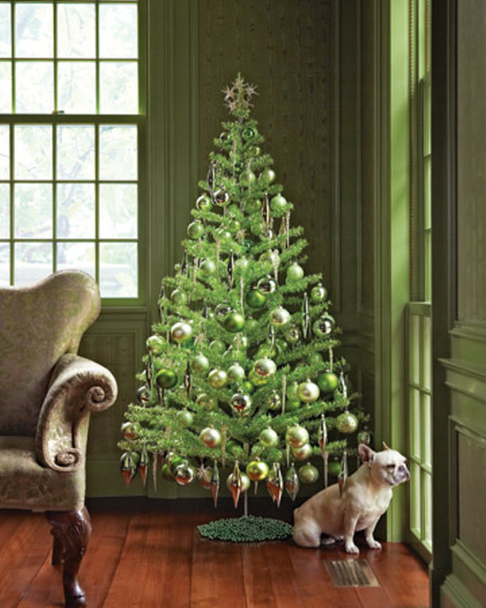 4 зеленая  елочка