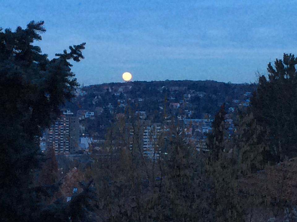 2 Восход  Луны  Германия