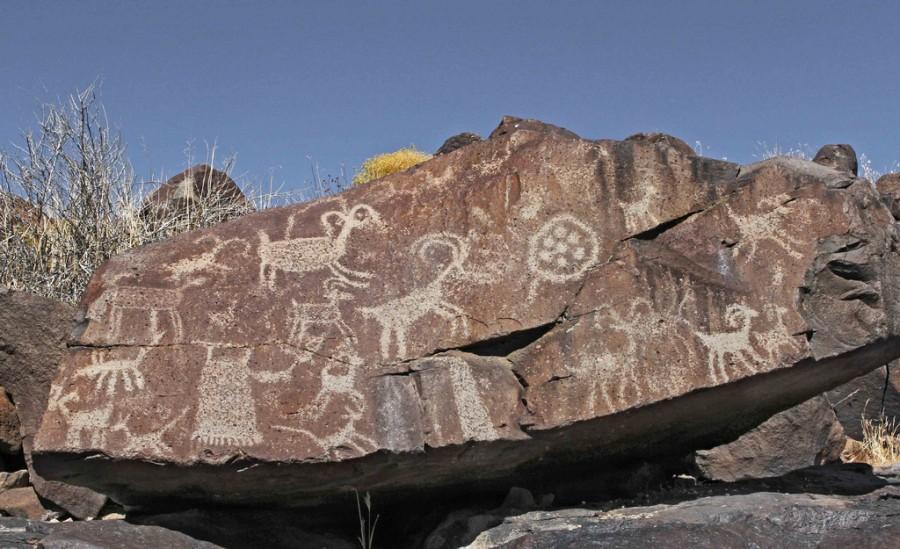 5 Little Petroglyph Каньон
