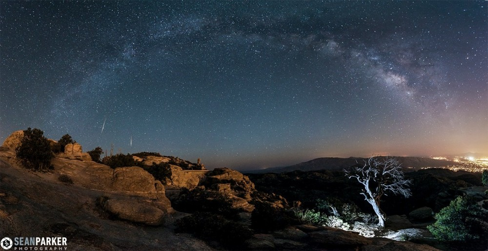 2 lyrid meteor