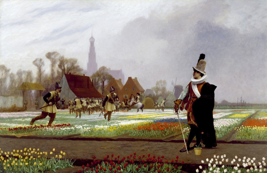2 Jean-Léon_Gérôme_-_The_Tulip_Folly_-_Walters