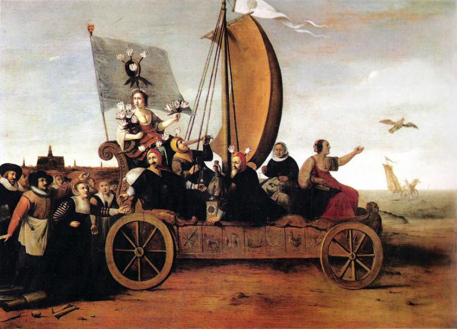 4 Hendrik Pot  Повозка Флоры, ок. 1640