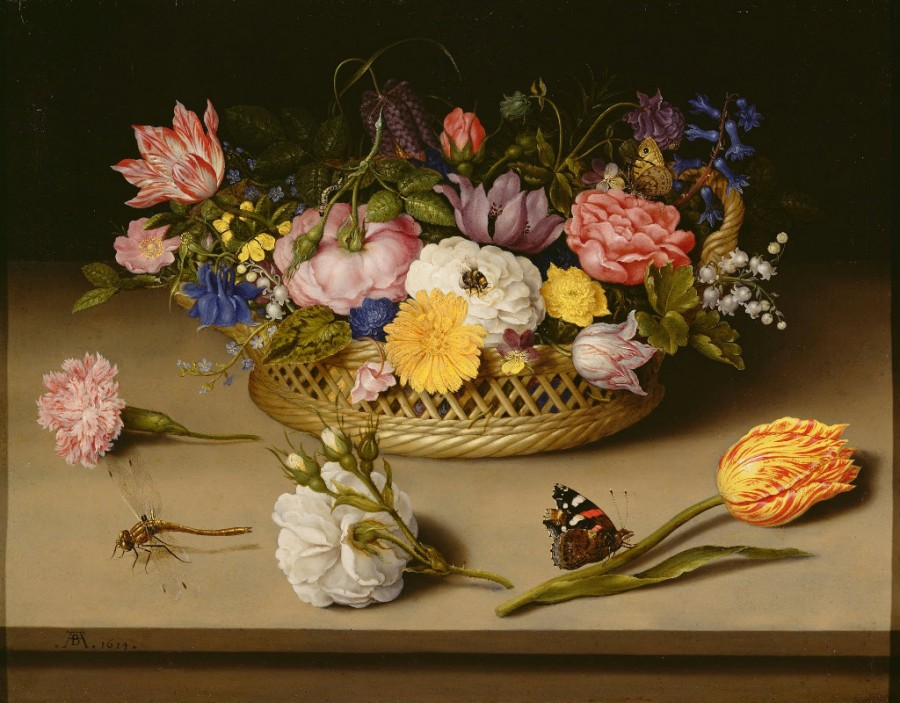 1 Flower Still Life Ambrosius Bosschaert the Elder - 1614