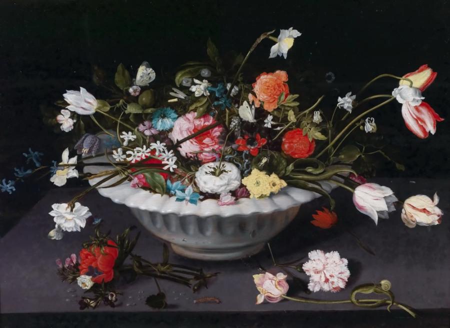 6 Ян Брейгель (Младший) - Натюрморт с цветами