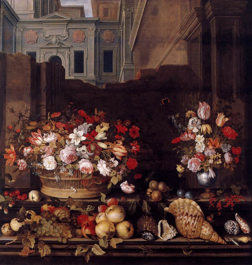 4 Balthasar van der Ast - 'Still Life with Flowers