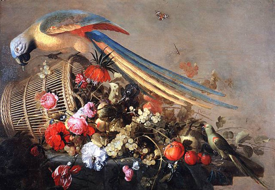 0 tnt Cornelis de Heem (Dutch Baroque Era Painter, 1631-1695)
