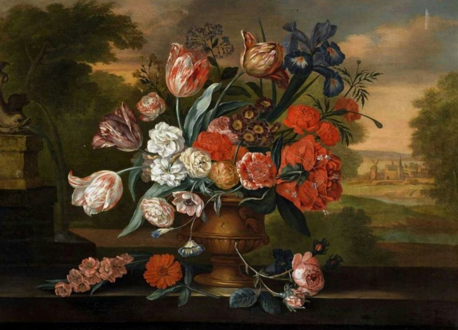 JACOB VAN HUYSUM 1687 - 1740
