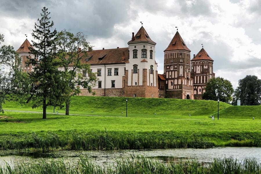 4 Мир, Беларусь, замок Радзивиллов