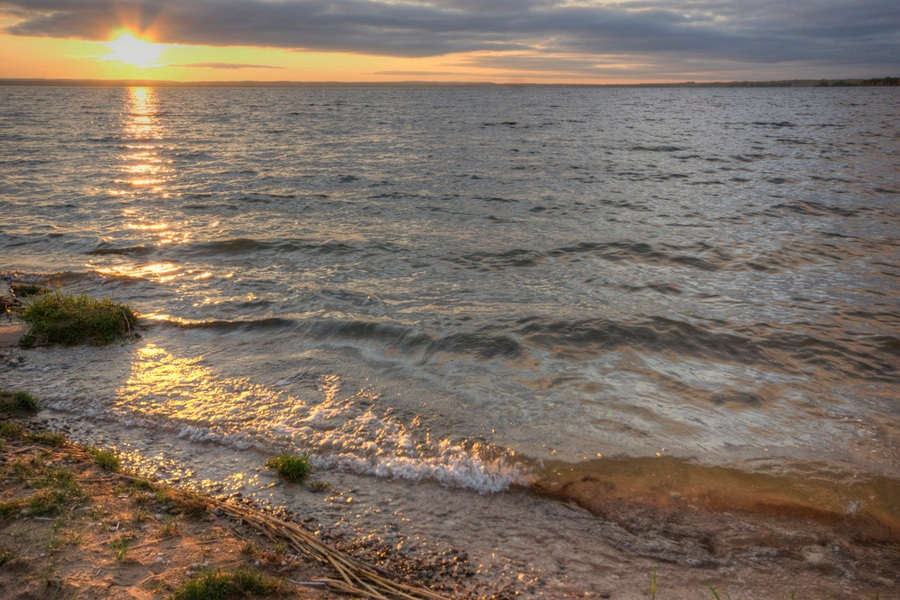 13 а Лукомское  озеро