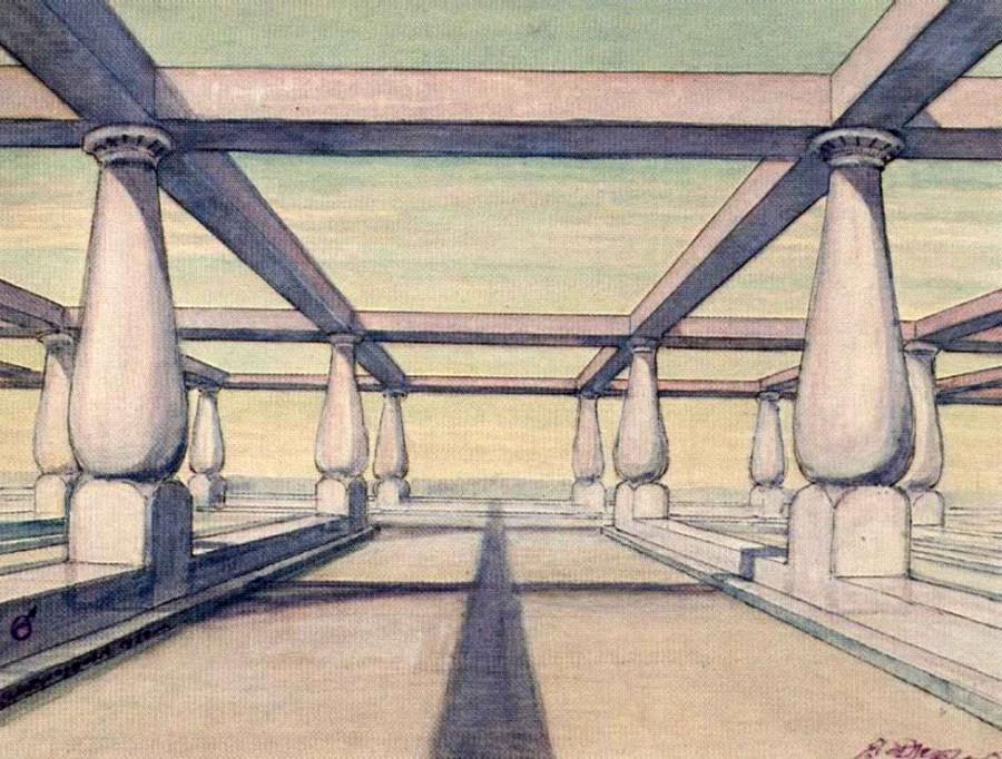8 Марсианская школа под открытым небом (1932).
