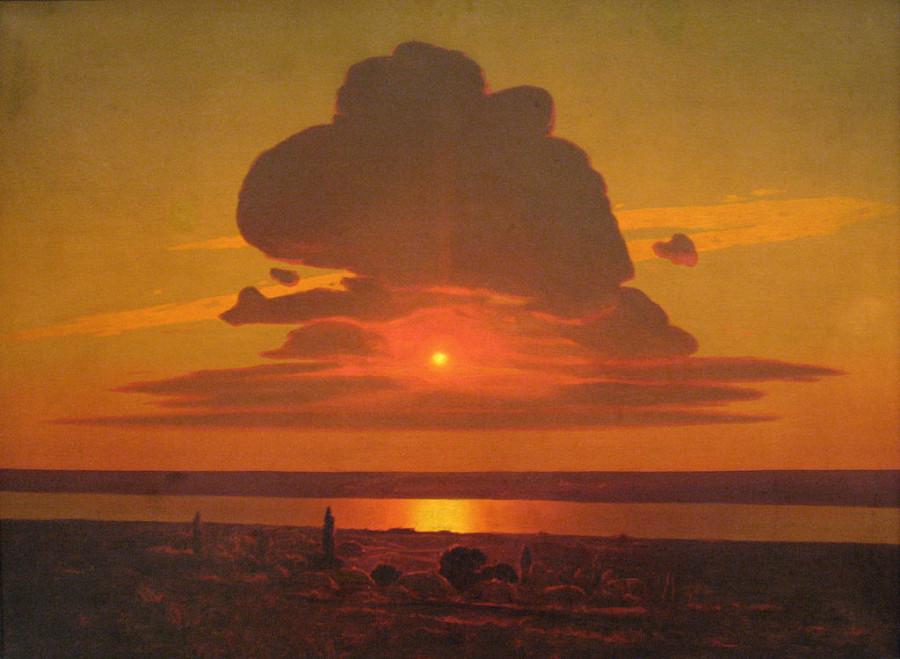 0 Куинджи  Красный  закат 1905-1908