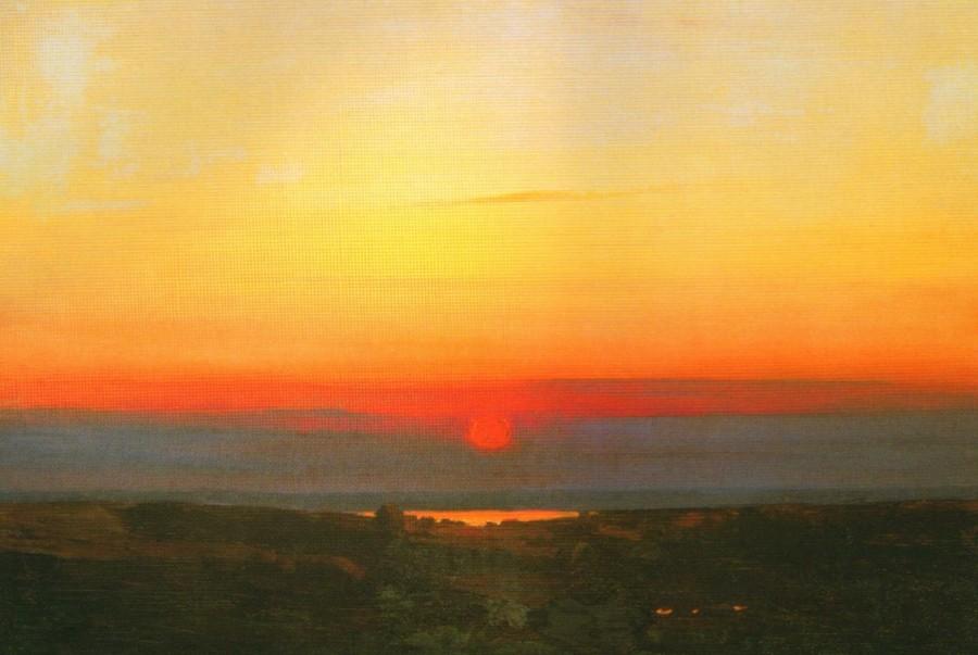 1 1898-1908 Куинджи А.И. Закат в степи на берегу моря
