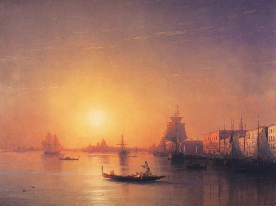 6 Айвазовский  Венеция 1874