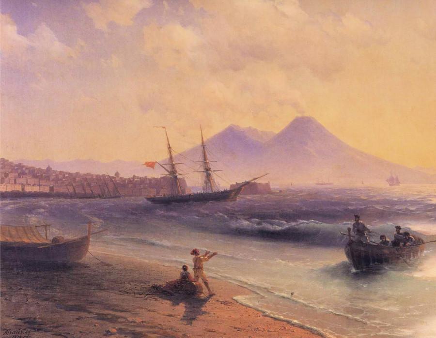 8  Fishermen_Returning_Near_Naples 1874