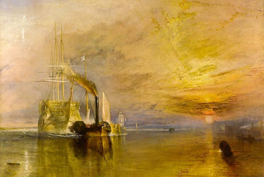 12  Joseph Mallord William Turner  Последний рейс корабля «Отважный» 1838
