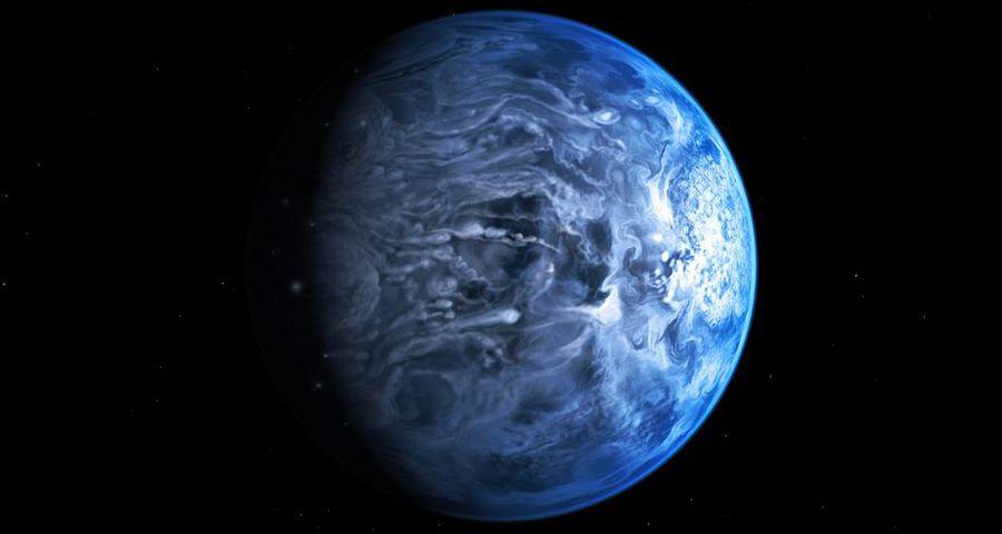 3 Лазурная  экзопланета HD 189733b
