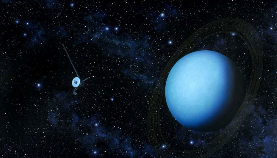 11 Вояджер -2  и  Уран