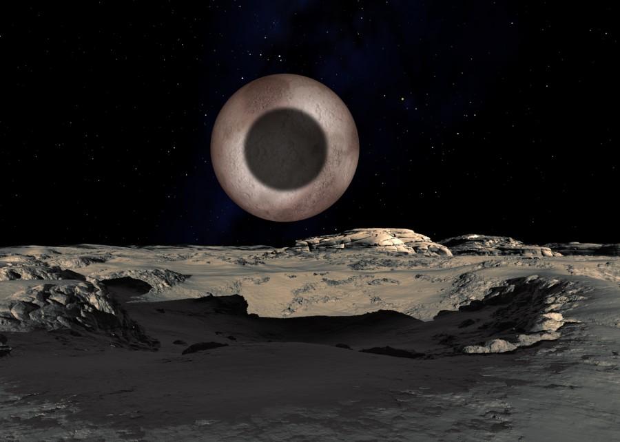 12 Плутон, Харон  и  Гидра