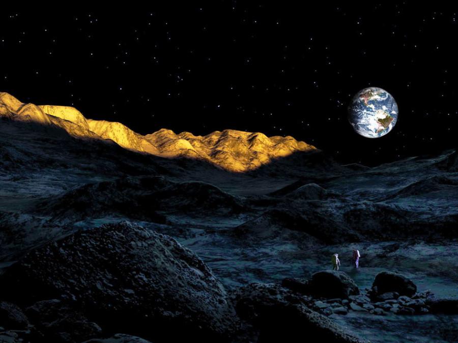 14 На  дне  кратера