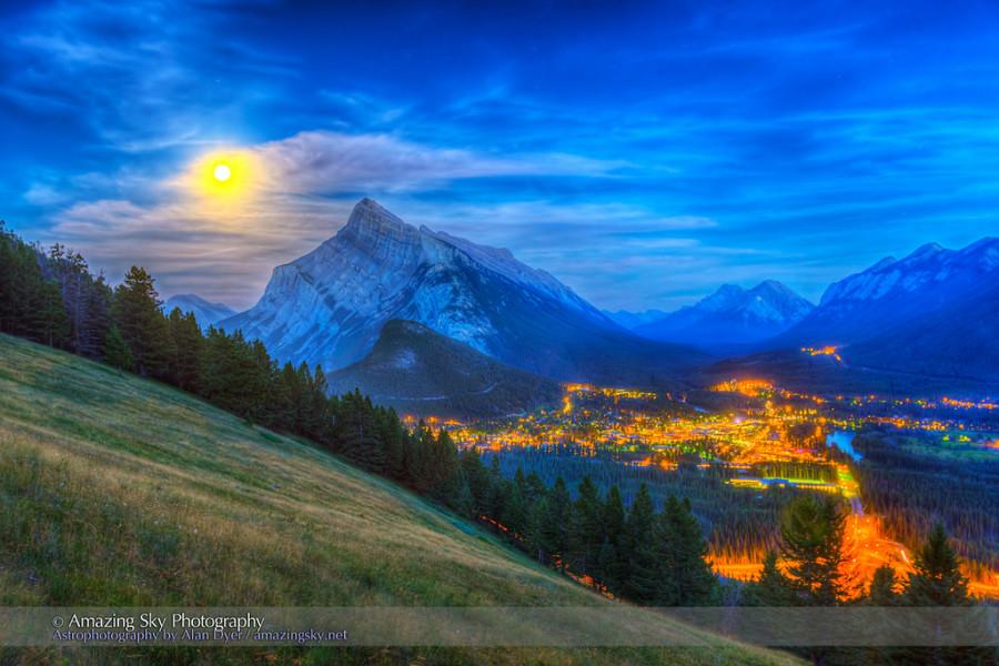 1 Банф в Скалистых горах Альберты, Канада