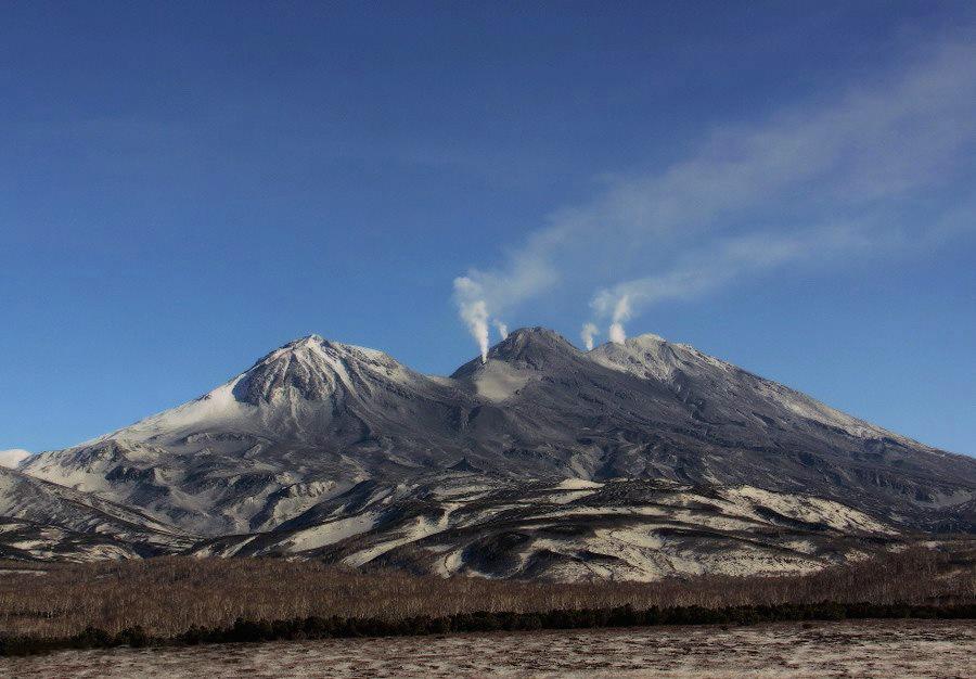 Zhupanovsky volcano  October 24 2013 Samoilenko