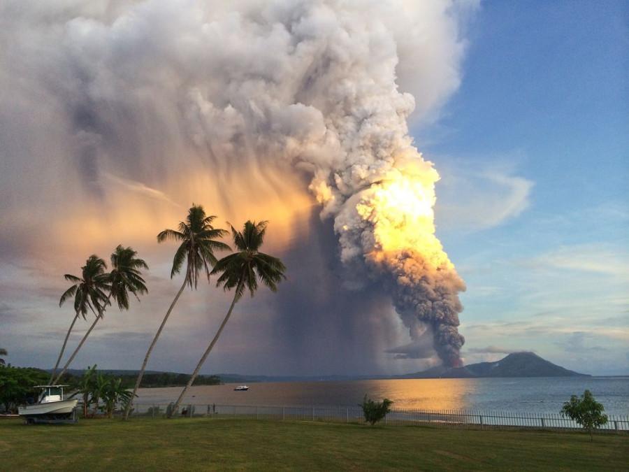 4 Вулкан  Тавурвур