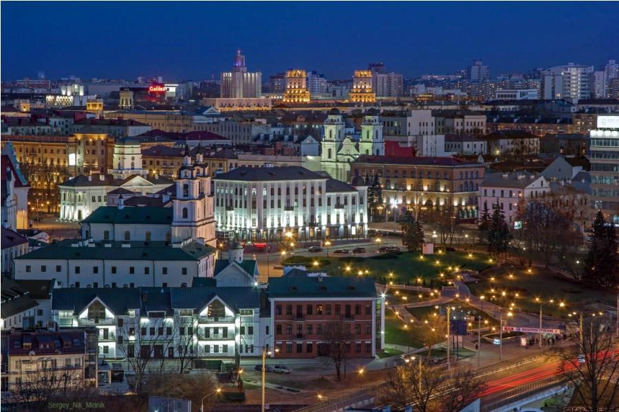 6 Кафедральный собор Святого Духа, Минск, Белоруссия.