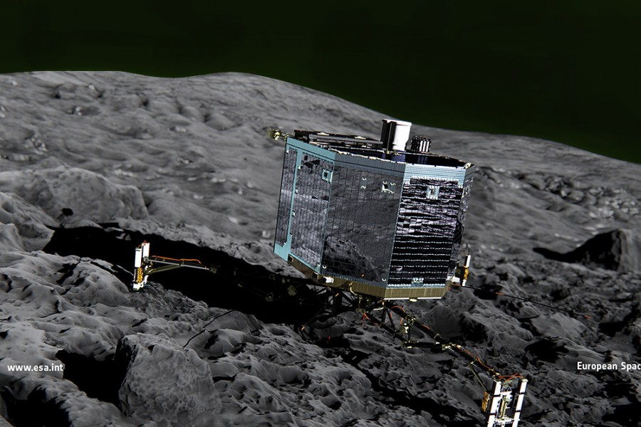What_does_Philae_do_during_descent