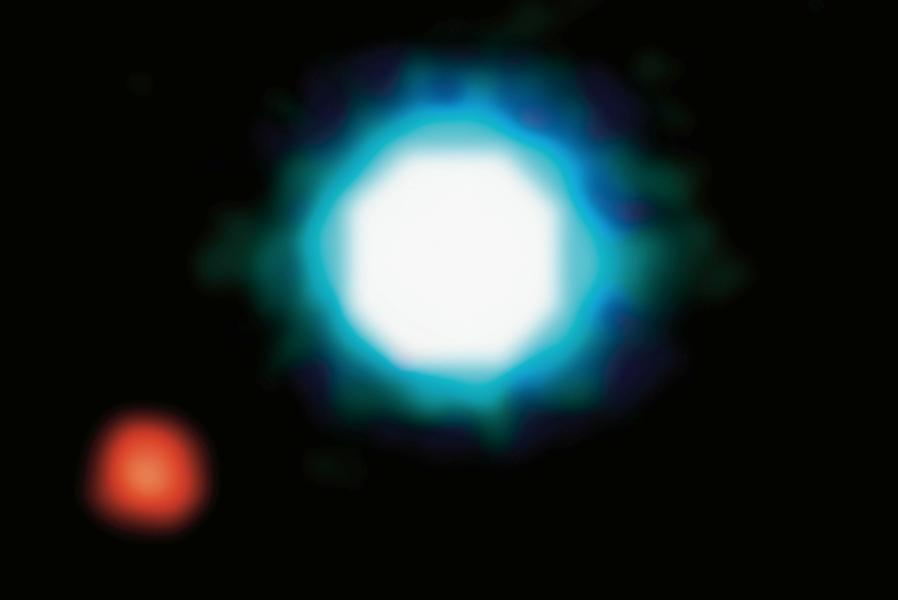 2M1207 Инфракрасное изображение