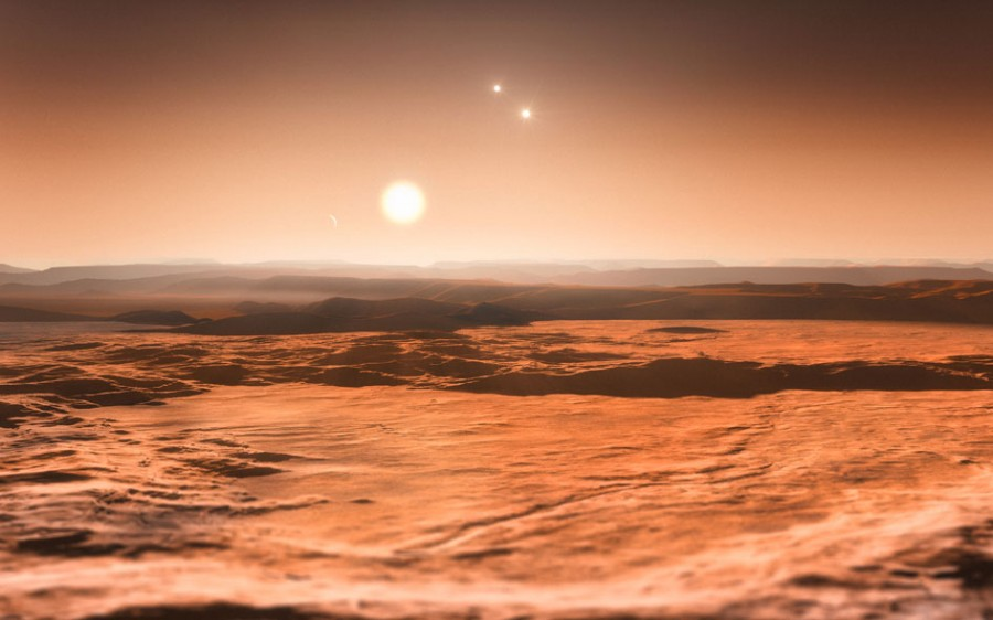 5 exoplanet Gliese 667Cd