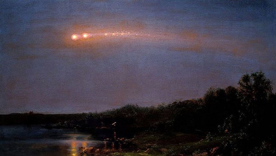 frederic church meteor of 1860