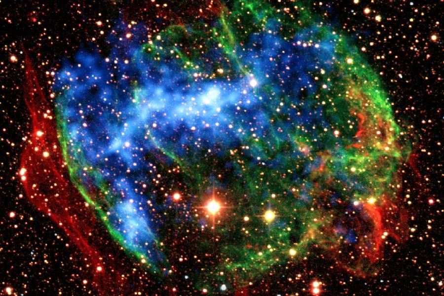 5 Сверхновая  звезда
