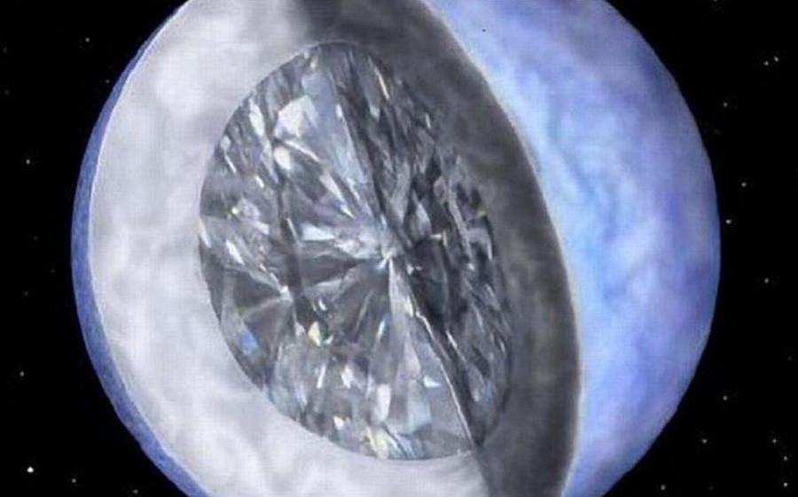 белый карлик PSR J2222-0137 состоит из кристаллизованного углерода
