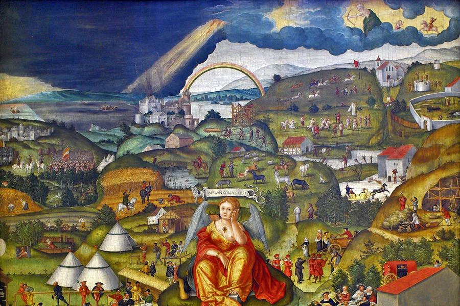 1 Matthias Gerung Die Melancholie im Garten des Lebens -